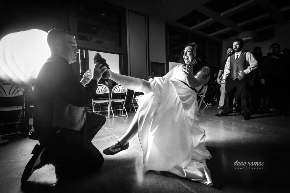 Amarillo Wedding Photographer Dave Ramos' Black & White Collection | Dustin and Kaytlin